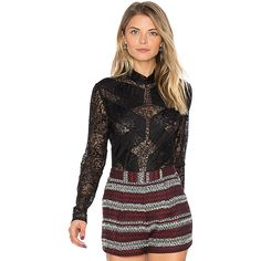 BCBGMAXAZRIA Blake Bodysuit ($148) ❤ liked on Polyvore featuring intimates, shapewear and fashion tops