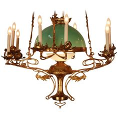 Lovely over the Dining Room table      1stdibs - Art Nouveau Chandelier explore items from 1,700  global dealers at 1stdibs.com