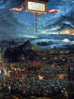 Albrecht Altdorfer - The Battle of Issus, 1529