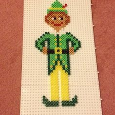 Christmas Buddy the Elf perler beads by hamabeadpatterns123