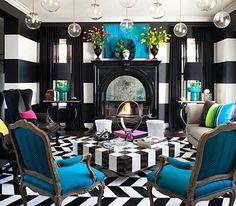 Kourtney kardashian home decor living room