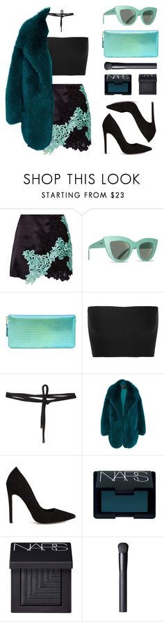 """Mint"" by baludna ❤ liked on Polyvore featuring 3.1 Phillip Lim, Billabong, Comme des Garçons, Calvin Klein Collection, Beaufille, Francesco Scognamiglio, ASOS and NARS Cosmetics"