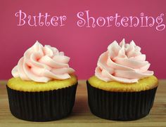 Cupcake Decorating 101: Frosting - Butter or Shortening? -- by BakeHappy