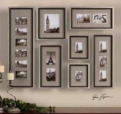 Fotografías en pared