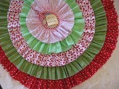 Ruffled Tree Skirt Made to Order by MaydasGifts on Etsy, $145.00