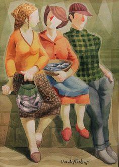 Por amor al arte: José González Collado Spanish Painters, Spanish Artists, Another Man, Contemporary Art, Dinosaur Stuffed Animal, Watercolor, Illustration, Painting, Animals