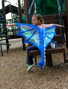 Dragon Wings & Tail Costume Blue for Kids Age 1 to Adult - Kids Costumes Dragon Birthday, Dragon Party, Adult Birthday Party, Birthday Gifts, Holidays Halloween, Halloween Crafts, Halloween Parties, Diy Costumes, Halloween Costumes