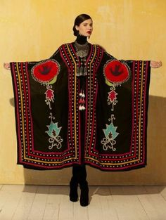 Roja Collection Ceremonial Robe from Cowgirl Kim Bohemian Mode, Bohemian Style, Boho Chic, Native American Clothing, Native American Fashion, American Jewelry, Ethnic Fashion, Hijab Fashion, Womens Fashion