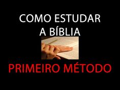 Como Ler e Interpretar a Biblia Sagrada - Esboçando Idéias - YouTube