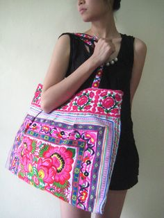 Ethnic style Boho bag courtesy of Etsy