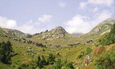 Modut village in the Kaçkar mountains.