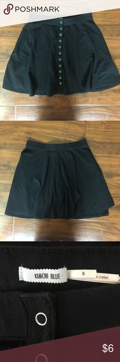 Good condition Urban Outfitters Black Skirt Size S Has been worn a couple of times but I always take care of my clothes. Smoke free home. Super cute and flowy. High waisted. Urban Outfitters Skirts Mini