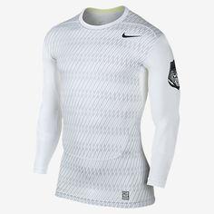Nike Pro Core Compression Long-Sleeve Men's Football Shirt