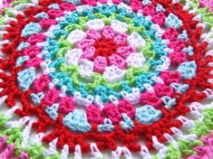 HaakKamer7: Doily patroon Free Crochet Doily Patterns, Crochet Doilies, Stitch Patterns, Crochet Ideas, Thread Crochet, Knit Crochet, Granny Square Tutorial, Learn To Crochet, Crochet Projects