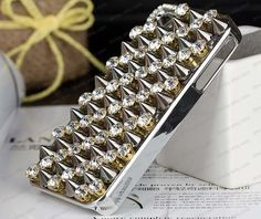 iPhone 5 Case Custom Stud spike Rivet iPhone Case by dnnayding, $37.99
