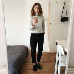 Minimal Fashion, Work Fashion, Fashion Outfits, Work Wardrobe, Capsule Wardrobe, Facon, Work Attire, Neue Trends, Autumn Winter Fashion