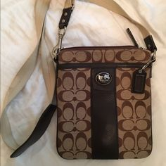 Coach Cross-Body Purse Purse has been slightly worn on the inside. Outside in good condition. Coach Bags Crossbody Bags