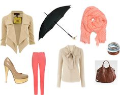 """""""raining shopping day"""" by caroline-desterbecq on Polyvore"""