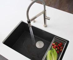 Blanco Silgranit Subline 700-U Level 700 x 400mm Grey - the kitchen hub.