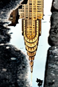 Chrysler Building Reflection  - (via) | ᶹᶥᶳᶸᵃᶩᶳ