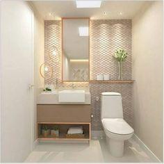 new ideas for guest bathroom storage tubs Bathroom Design Luxury, Bathroom Design Small, Modern Bathroom, Master Bathroom, Wc Decoration, Ideas Baños, Diy Bathroom Decor, Bathroom Ideas, Bathroom Storage