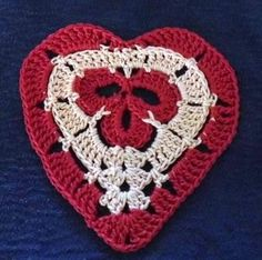Clover Heart Pattern 011113 - Lots of Crochet Stitches