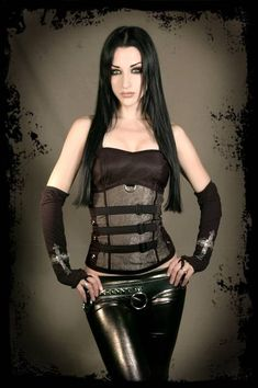 Severity Custom Corset Top DiY - Handmade to Your Size - aNGrYGiRL Gear. $125.00, via Etsy. Would love the top if it was not so much!
