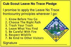Cub Scout Pledge