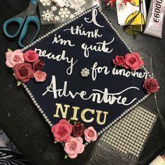 Nursing Graduation Cap - Lord of the Rings inspired!!