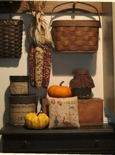 Primitive display for autumn