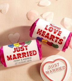 Top 10 extra special personalised wedding touches © Lovehearts