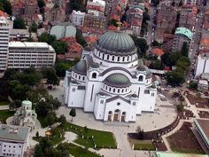 Hram Svetog Save, Belgrade, Serbia! How cool is this place?! Re-pin if you've been here! #Belgrade #Serbia