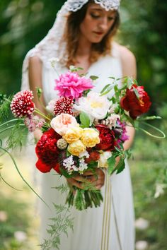 incredible bouquet from BowsandArrowsDeluxe.com // photo by AprylAnn.com