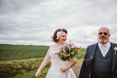 A fun wedding combining vintage elements with an overall festival wedding party vibe. Vintage Festival, Gown Photos, Vintage Party, Festival Wedding, Wedding Stuff, Gowns, Couture, Bride, Retro