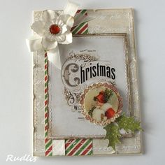 great idea to recycle old christmas cards