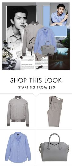 """""""Nature Republic"""" by rainie-minnie ❤ liked on Polyvore featuring Oris, nature republic, Coffee Shop, Herno, AG Adriano Goldschmied, Giuseppe Zanotti, J.Crew, Givenchy and Gucci"""