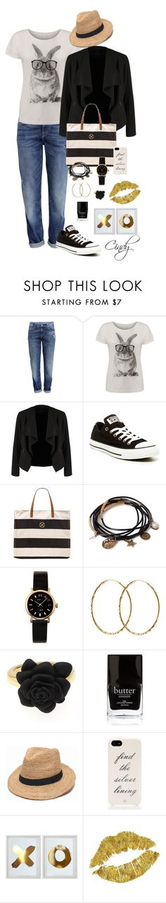 """Spring"" by cindy32tn ❤ liked on Polyvore featuring H&M, Vero Moda, OPUS Fashion, Converse, ViX, Forever 21, Marc by Marc Jacobs, Pernille Corydon, Butter London and ále by Alessandra"