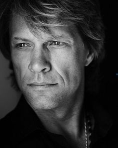 Jon Bon Jovi, my cousin passed the love of Bon Jovi on to me....love his music!