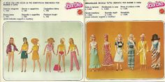 Booklet Barbie 1977 Italy pagg 11-12