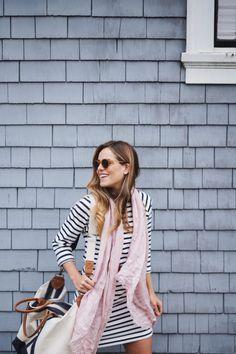 Spring Dresses - @GAP Striped Dress