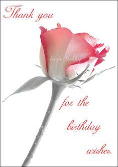 Birthday thank you greetings Birthday Wishes Reply, Thank You For Birthday Wishes, Thank You Wishes, Birthday Wishes For Daughter, Birthday Thanks, Happy Birthday Celebration, Birthday Cheers, Happy Birthday Wishes Quotes, Happy Wishes