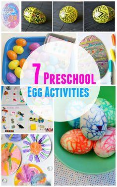 7 Preschool Egg Activities