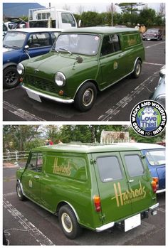 Love this Saturday Stunning Harrods Mini Van from our friends in Japan.