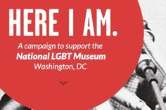 National LGBT Museum - Design Fridge (website design inspiration) - scrolling columns