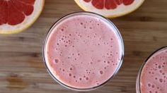 Rooibos Tea and Grapefruit Smoothie Recipe #drink #drinks #smoothie #smoothies