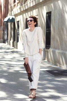 On the Street….Garance on Ninth St., New York - The Sartorialist