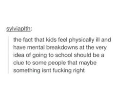 *bangs head on desk in frustration.*<< true. I've had so many panic attacks lately cause of the work to rule and all that shit going on