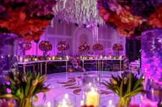 11 Ideas for Stunning Wedding Ceiling Decorations [Photos] - PartySlate Chic Wedding, Wedding Reception, Wedding Ceiling Decorations, Duke Images, Preston Bailey, Tamil Wedding, Event Lighting, Floral Centerpieces, Celebrity Weddings