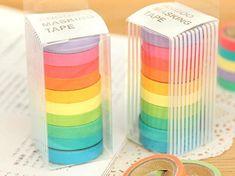 Nastro adesivo Set giapponese Washi Tape Washitape di alicemolds