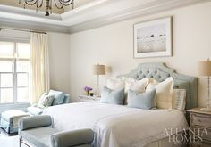 Image result for neutrals and soft blue decor
